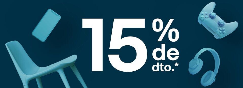 Código POPULAR15 - 15% de dto. en categorías seleccionadas