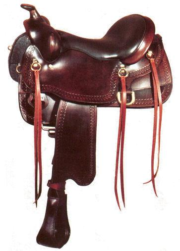 "Big Horn Gaited Saddle 16""  A01544"