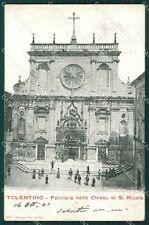 Macerata Tolentino cartolina QK6542