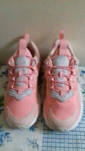 luz de sol Escribir Punto de referencia  Girls Nike Air Max 270 Pink Trainers Size UK 1 EU 33 VGC | eBay