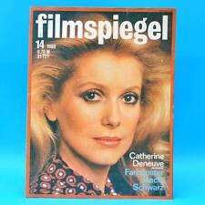DDR Filmspiegel 14/1980 Vladimir Brabec Catherine Deneuve Horst Buchholz D