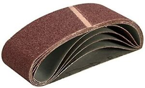 Triton TPTA12713502 75 x 533 mm 40 Grit Sanding Belt - Multi-Colour (Pack of 5)