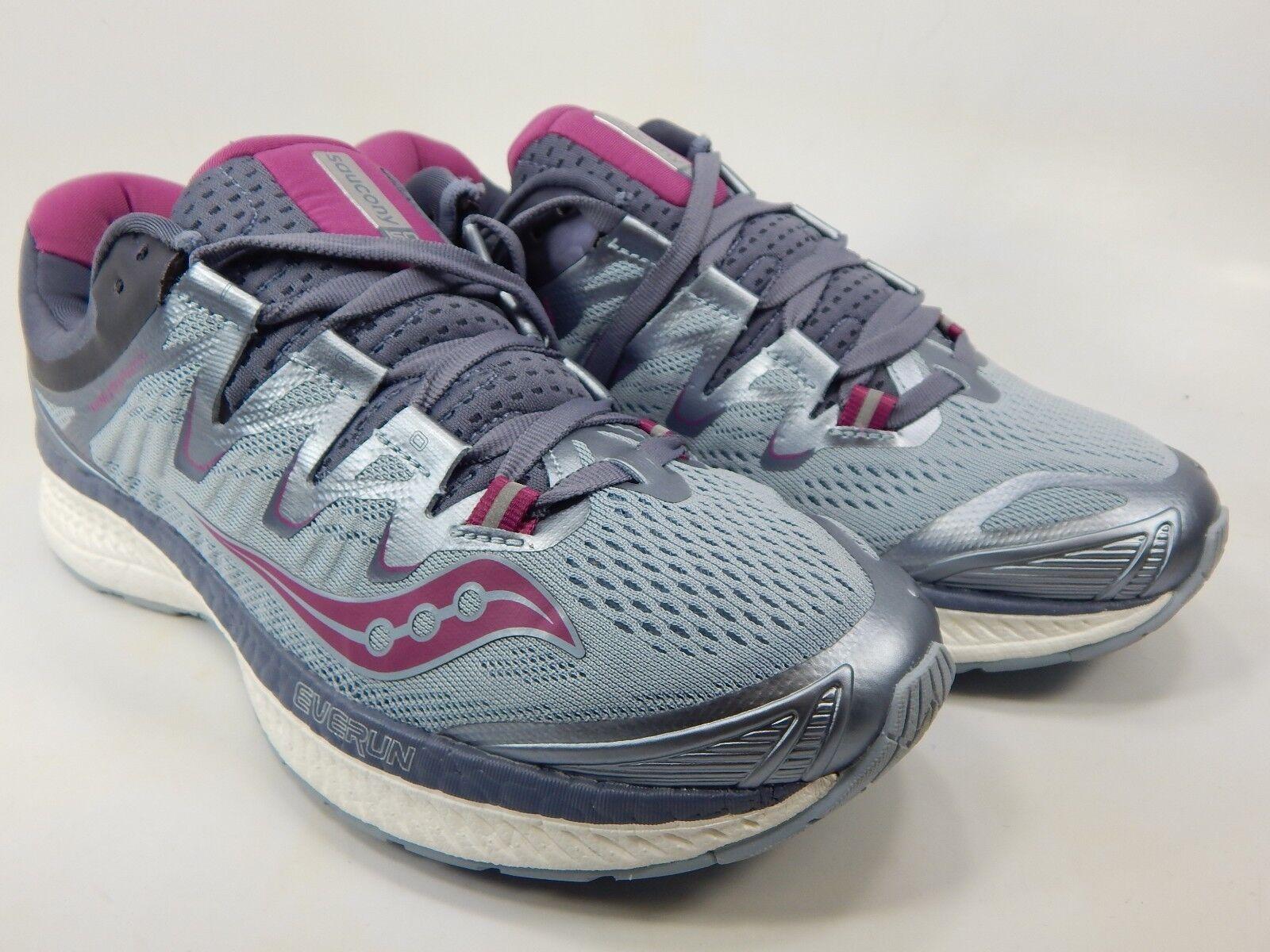 Saucony Triumph ISO 4 Size US 8 M (B) EU 39 Women's Running Shoes Gray S10413 1
