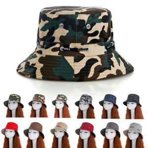 Boonie-Bucket-Hat-Cap-Cotton-Fishing-Brim-visor-Sun-Safari-Sumer-Camping-Masraze