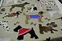 Dalmatian Poodle Bassett Dog Pet Blanket Can Personalize Double Sided 28x44