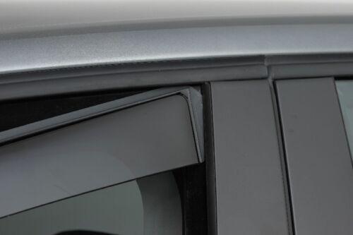 Climair Windabweiser Peugeot 108 Fließheck Typ P 3-Türer ab 2014-Tiefschwarz