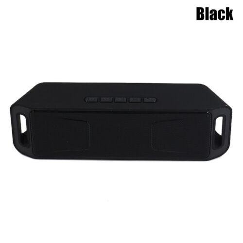 Portable Bluetooth 4.1 Wireless Speaker TF USB FM Radio Bass Sound Box Stereo