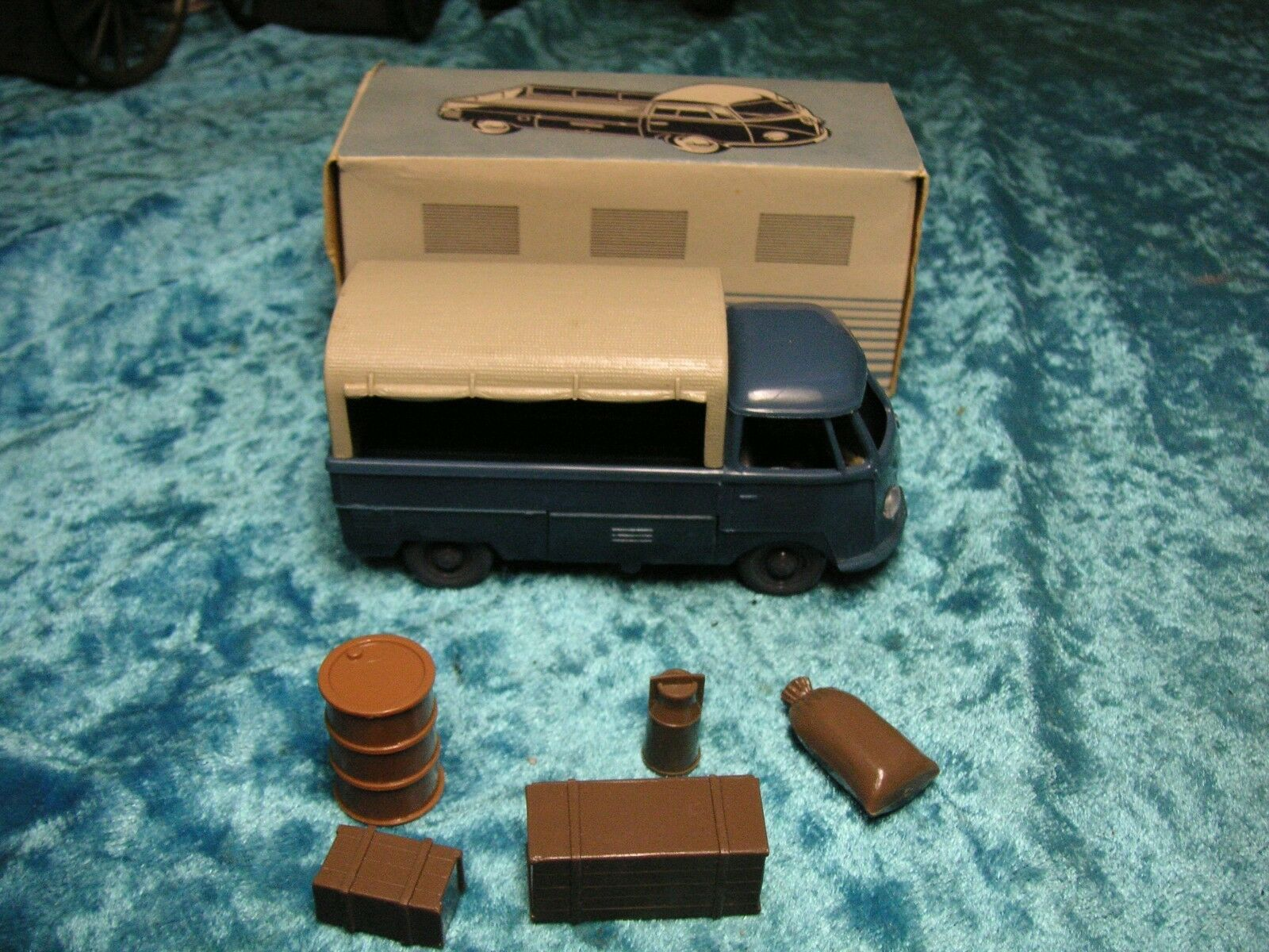 Wiking VW Transporter t1 unverglast 1:40 conducente + rinfusa OTT GERMANY 50er anni