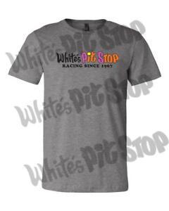 Lg Whites Pit Stop Racing Speed Shop T-shirt Black Small Med Xl 2x 3x 4x 5x