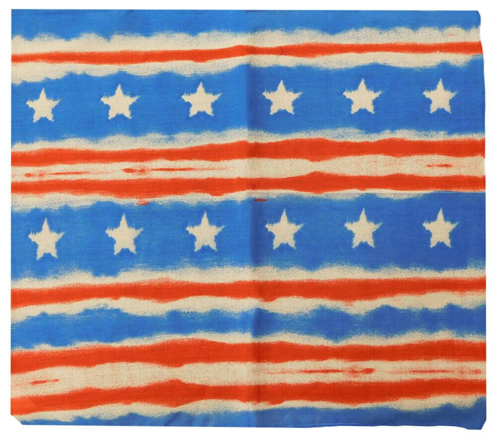 6 Pack Red White Blue Striped Stars Patriotic 22