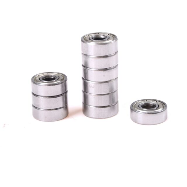 UK 10x APEC 624ZZ Ball 4x13x5 mm Chrome Steel Bearing for 3D Printer Reprap