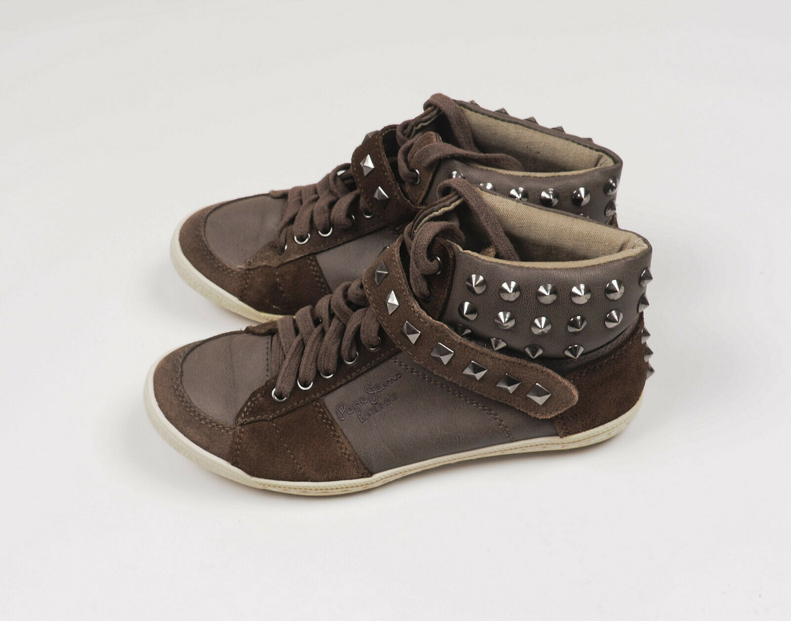 Pepe Jeans LONDON Womens Grey shoes Size