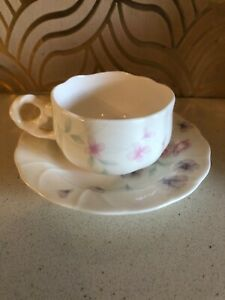 Pretty-Hancook-Pastel-Bone-China-Cup-amp-Saucer