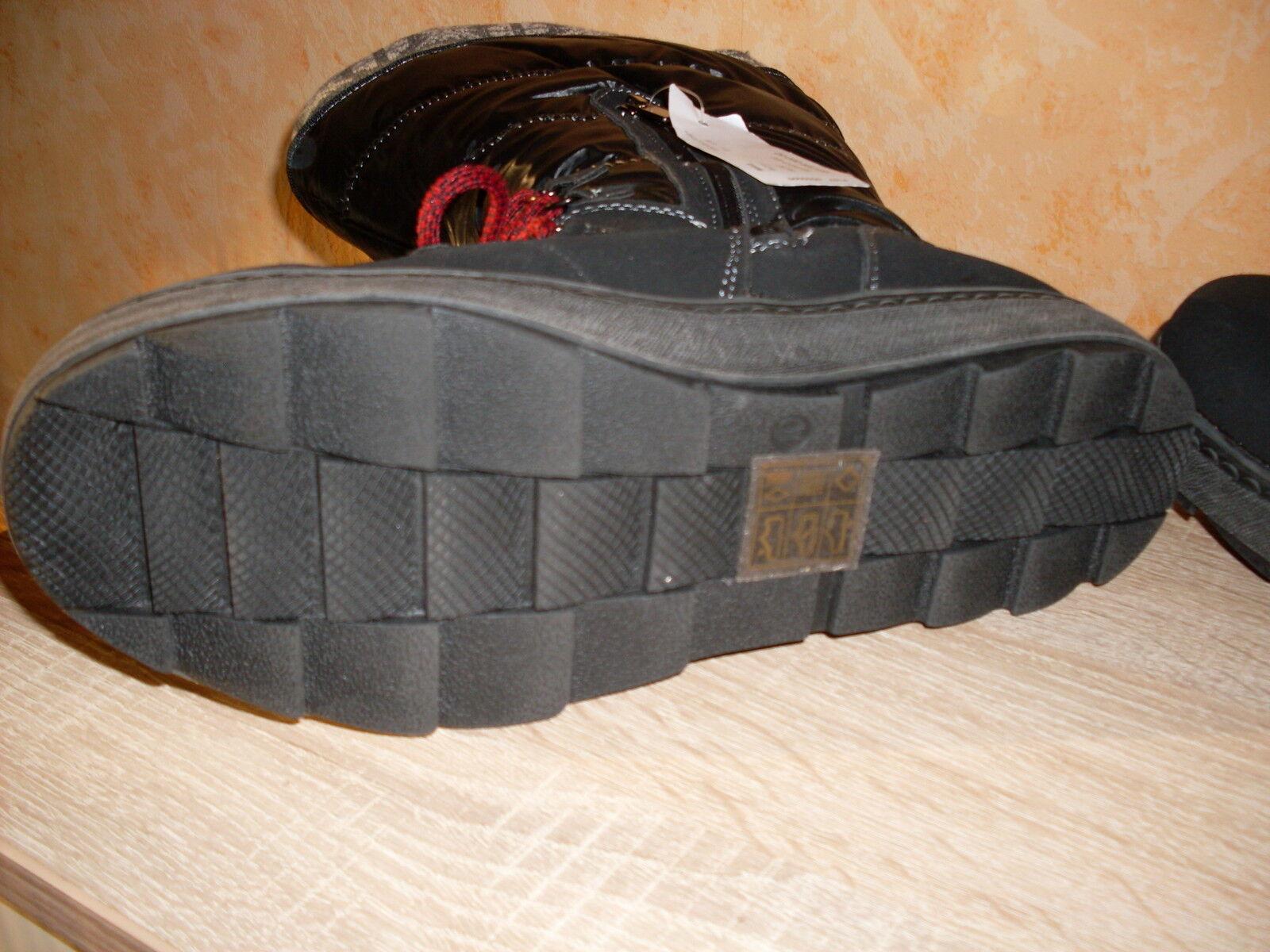 JJ Snowboot Stiefel NEU / Schneestiefel XXL Wadenweite NEU Stiefel Gr. 40 schwarz ansehen eb8f4a