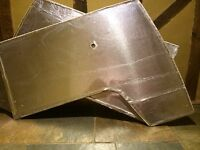 Vw Splitscreen Beetle Bay Door Card Membrane Insulation
