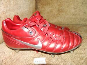 avvenimento huh semplice  Nike TOTAL 90 Scarpe Da Calcio UK 5 EUR 38 ROSSO/SILVER * RARO * In  buonissima condizione   eBay