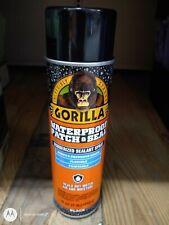 Gorilla Waterproof Patch Amp Seal Liquid Rubber Spray Sealant Black 14 Oz