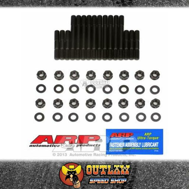ARP MAIN BEARING STUD KIT FITS SMALL BLOCK CHEV LARGE JOURNAL 4 BOLT-AR134-5601