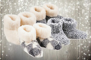 Ladies-Slippers-Womens-Winter-Warm-Fur-Ankle-Boots-Booties-Size-UK-3-4-5-6-7-8