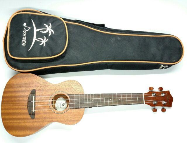 Donner Concert Ukulele Mahogany Duc 1 23 In W Case For Sale Online Ebay
