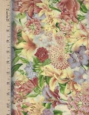 "Hoffman///""Tie the Knot/"" By 1//2 Yd N6270 Pastel Wedding-Theme Quilt Cotton"