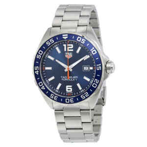 e75e8341eca Tag Heuer Formula 1 Blue Dial Men s Watch WAZ1010.BA0842