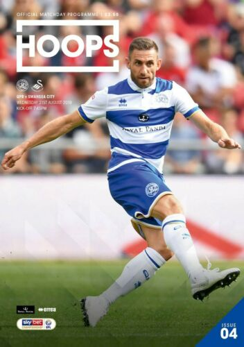WEDNESDAY 21ST AUGUST 2019 QPR V SWANSEA CITY-OFFICIAL PROGRAMME