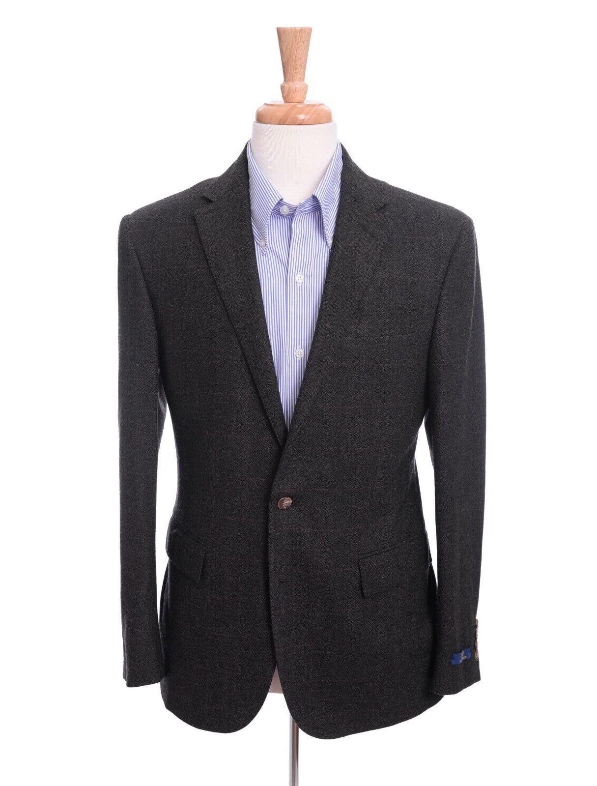 Polo Ralph Lauren 38R grau Plaid Custom Fit Wool Blazer Sportcoat Slovakia