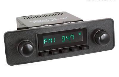 Attento Per Opel Kadett C Auto D'epoca Radio Dab+ Fm Usb Bluetooth Aux-in Qualità Eccellente