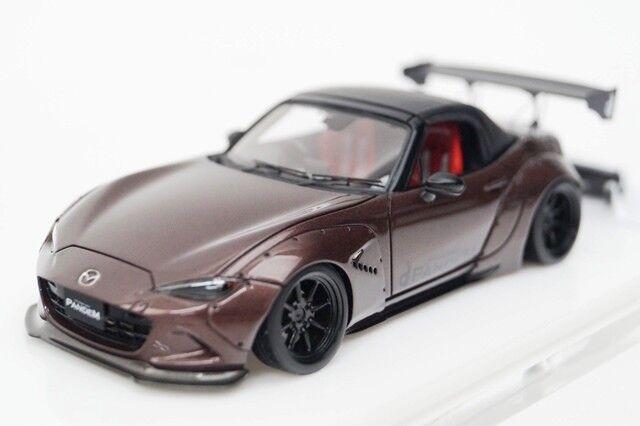 RB004B5 Makeup Eidolon 1 43 Mazda Rocket Bunny Roadster Nd Watanabe Meta  Brown