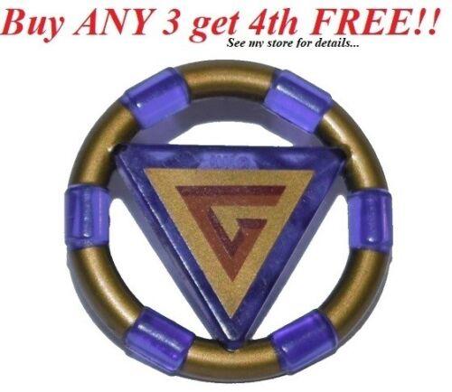 Triangle A Minifig Symbol ☀️NEW Lego Atlantis Trans PURPLE TREASURE KEY