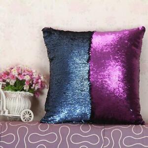Magic-Mermaid-Pillow-Case-Reversible-Sequin-Sofa-Pillow-Cushions-Cover-Touch-WO