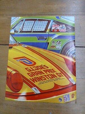 "ORIGINAL vintage /""Gran Prix  Portland International Raceway/"" Poster by McIntire"