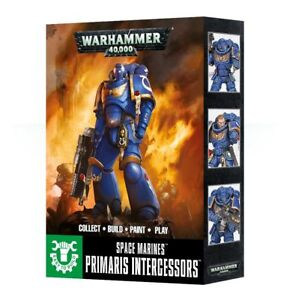 Space Marine Easy to Build Primaris Intercessors Warhammer 40K NIB Flipside