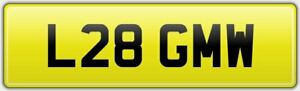 L28-GMW-RARE-2-DIGIT-OLD-CAR-REG-NUMBER-PLATE-FEES-PAID-STORE-OR-TRANSFER-GM-GW