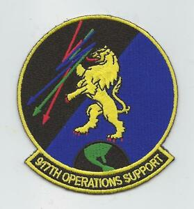 """3 1//2/"""" 934th Operations Support Flight USAF Air Force Patch"""