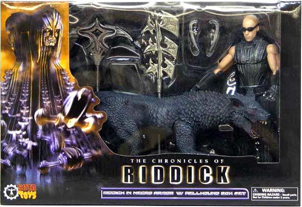 Riddick Hellhound 2 PVC Figuren Box-Set Neu 16cm By Sota