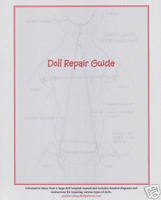 Doll Teeth for Repair 4 sets Item #B