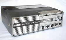 UHER 4200 Report Stereo Field Recorder + Case & Cables
