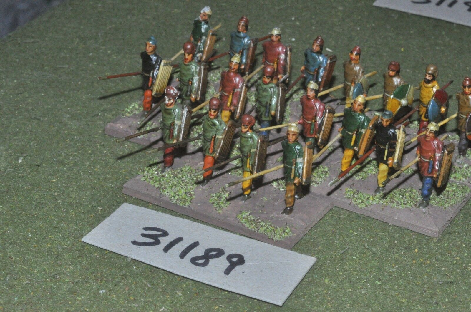 25mm classical   persian - spearmen 20 figures - inf (31189)