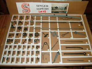 SINGER-144W305-Industrial-Sewing-Machine-Parts-Restore-Simanco-LOT-2