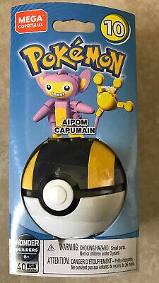 "Mega Construx Pokemon Series 10 /"" AIPOM CAPUMAIN/"""