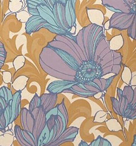 My Floral Fantasy Original Danish Mod Iconic Vintage Wallpaper