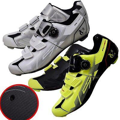 Scarpe Ciclismo Velochampion Vcx (coppia) Con Suole In Fibra Di Carbonio-mostra Il Titolo Originale