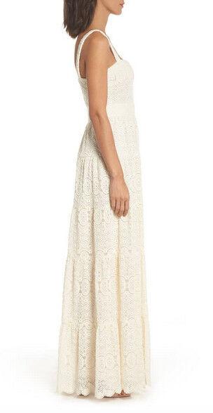 Eliza Eliza Eliza J Tiered Lace Maxi Dress Size 8 ccc668