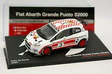 Ixo Presse 1/43 - Fiat Abarth Grande Punto S2000 Rallye de Russie 2007