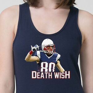 san francisco cb28f a008d Details about Deathwish Danny Amendola #80 T-shirt NFL New England Patriots  Adult Tank Top