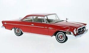 1962 Chrysler 300h 2 Portes Hardtop Rouge Par Bos Modèles Le De 504 1/18