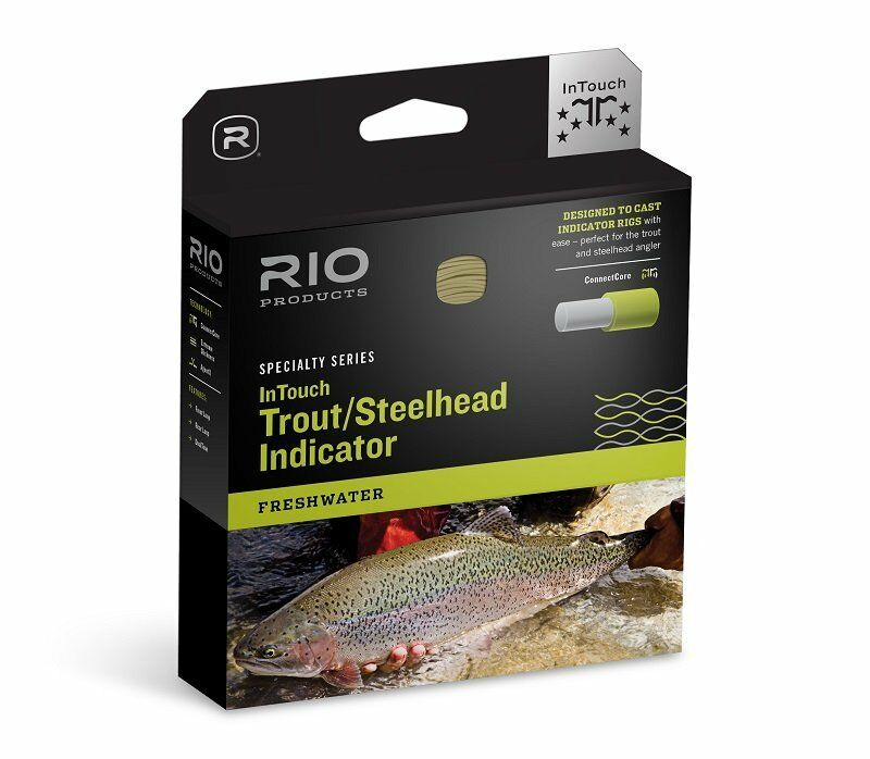 RIO InTouch Trout   Steelhead Indicator Fly Line - WF6F - NEW