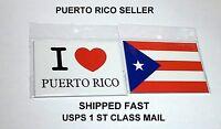 Puerto Rico Flag Kitchen Fridge Magnet Spanish Recipe Food Cooking Decoration Y